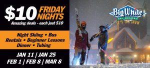 Friday Night Ski Bus
