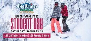 Big White Student Day: January 19